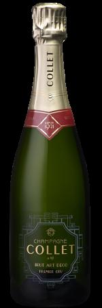 DT Champagne Collet Brut Art Deco Premier Cru