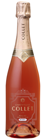 DT Champagne Collet Rosé Dry Collection Privée